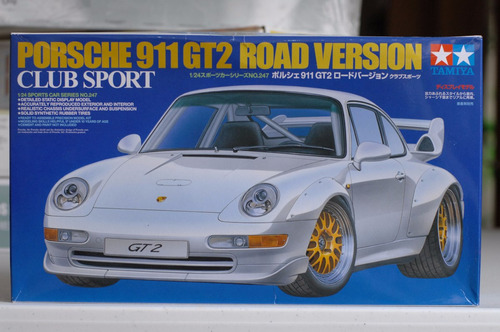 tamiya 1/24 porsche 911 gt2 road version