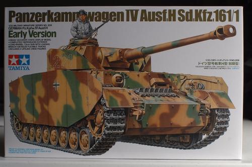 tamiya 1/35 panzerkampfwagen iv ausf.h sd.kfz.161/1