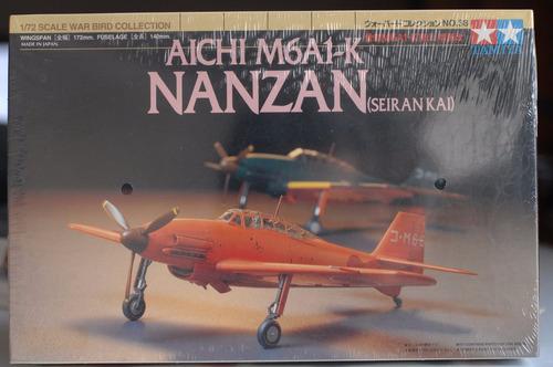 tamiya 1/72 aichi m6a1-k nanzan (seirankai)