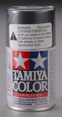 tamiya 85042  spray lacquer ts-42 light gunmetal (pintura t2