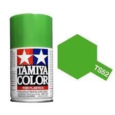 tamiya 85052  spray lacquer ts-52 candy lime green pintura