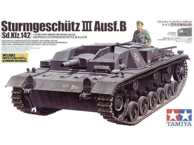 tamiya kit 1 35 sturmgeschütz iii ausf b sd kfz 142 35281 r 465