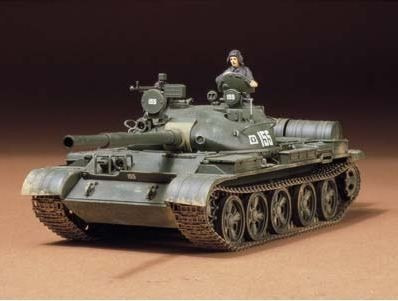 tamiya - russian t-62a tank 1/35