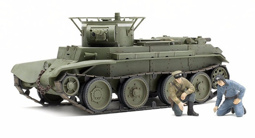 tamiya - russian tank bt-7 model 1935 1/35