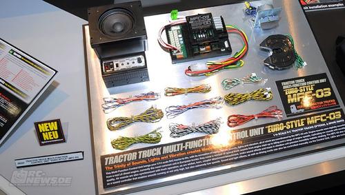 tamiya unidade multi funcional tamiya - mfc 03