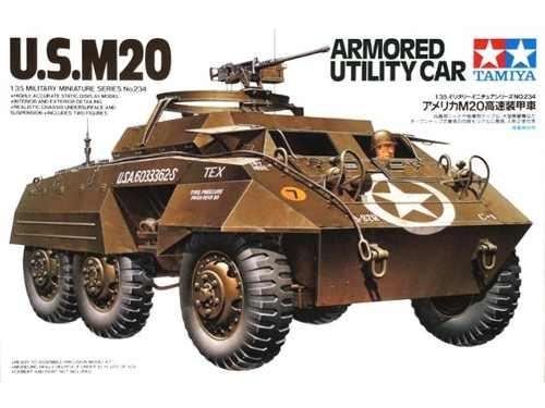 tamiya u.s. m20 armoured utility car 1/35