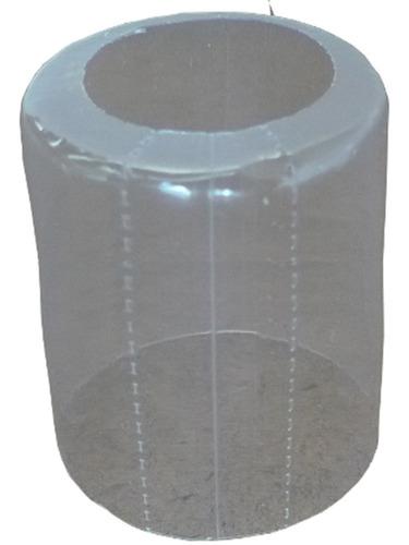tampa 31 mm com lacre transparente