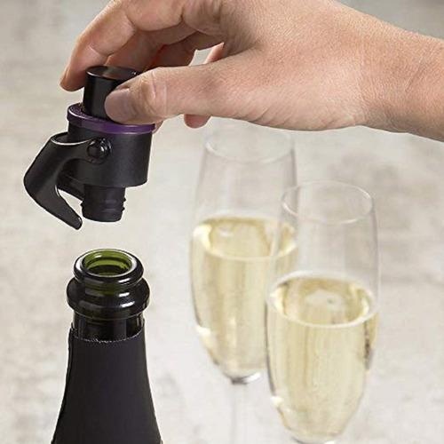 tampa a vácuo para champagne - prana