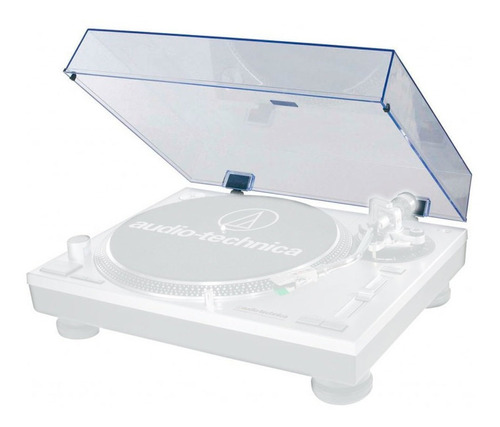 tampa acrílica audio-technica para toca-discos at-lp120