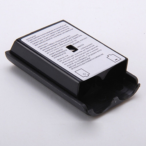 tampa da bateria - porta pilhas - controle xbox 360 - preta.