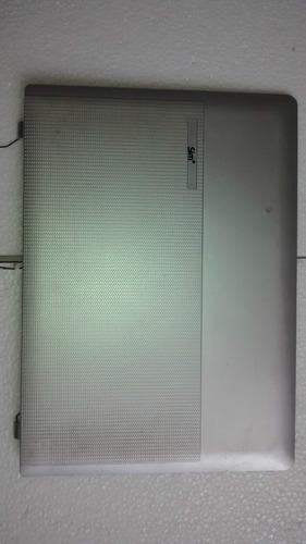 tampa da tela com alto falante + webcam sim+ 1455