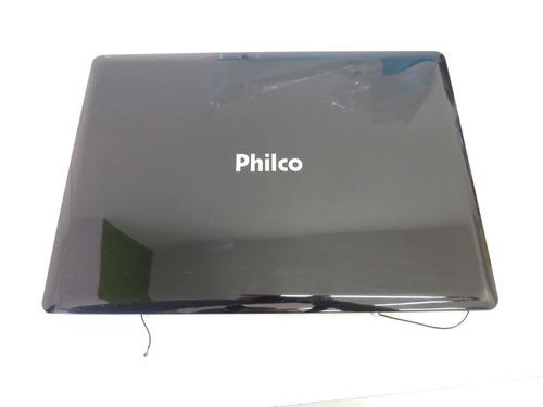 tampa da tela de notebook philco phn 14119 usado #p