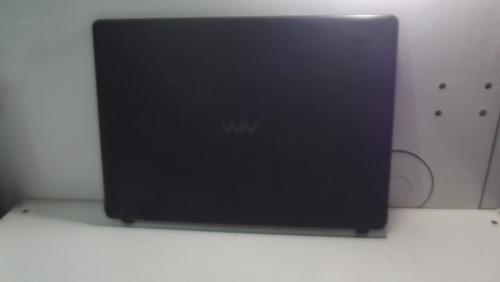 tampa da tela notebook cce ultra thin u25 n325