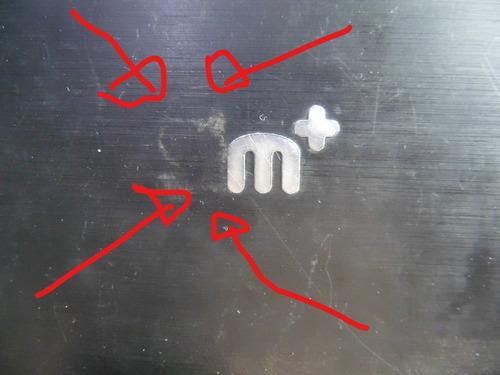 tampa da tela (topcover) carcaça positivo sim+ 1405m detalhe