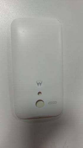 tampa de traz branca para celular moto g1 modelo 1033