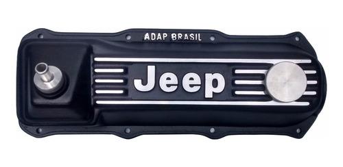 tampa de válvula do motor ap (todos) em alumínio para jeep
