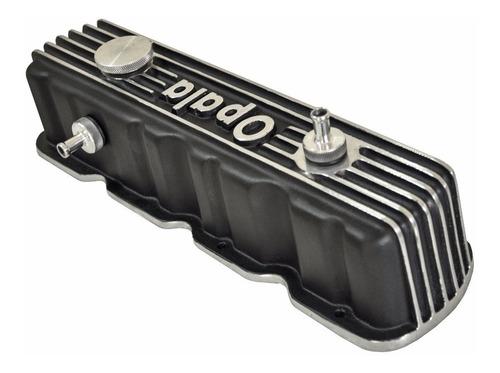 tampa de válvula do motor opala 4cc em alumínio- adap brasil