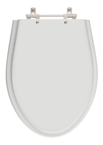 tampa de vaso absolute cinza claro para louça ideal standard