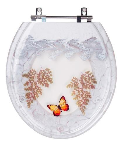 tampa de vaso decorada avalon para bacia ideal standard