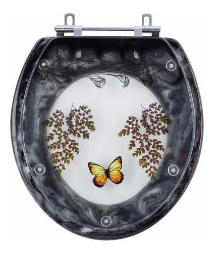 tampa de vaso decorada diamantina preta para louça icasa
