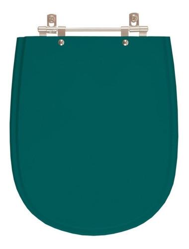 tampa de vaso paris verde amazônia para louça ideal standard