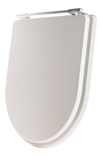 tampa de vaso poliéster calypso branco para bacia incepa