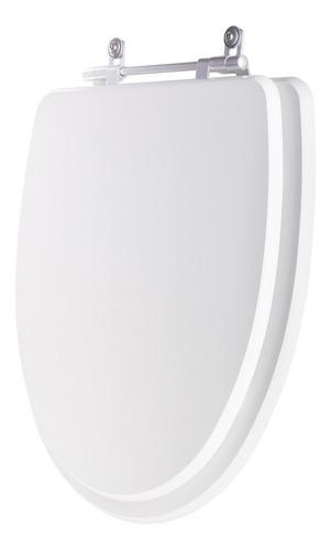 tampa de vaso poliéster eros branco para bacia incepa