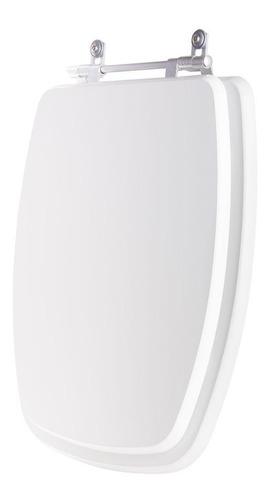 tampa de vaso poliéster thema branco para louça incepa
