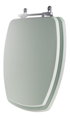 tampa de vaso thema verde agua para louça incepa