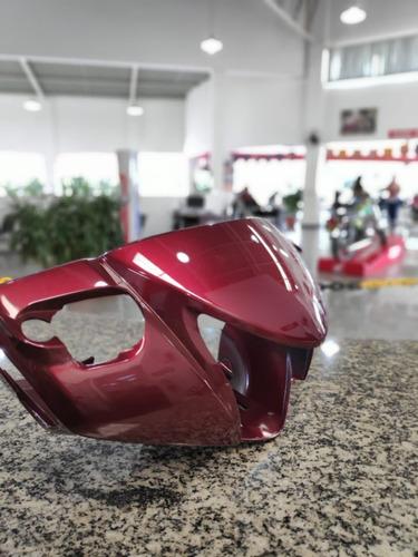 tampa dianteira guidão biz 125  ex vermelha r335p 2012
