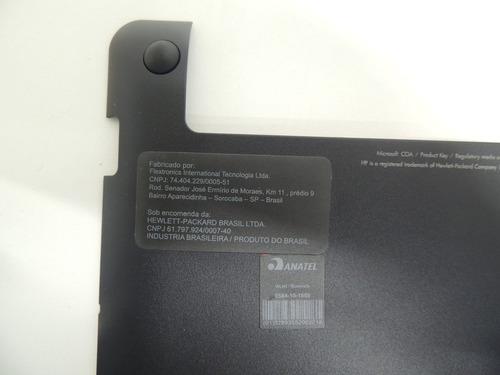 tampa do chassi base de notebook hp mini 110 3130br usado