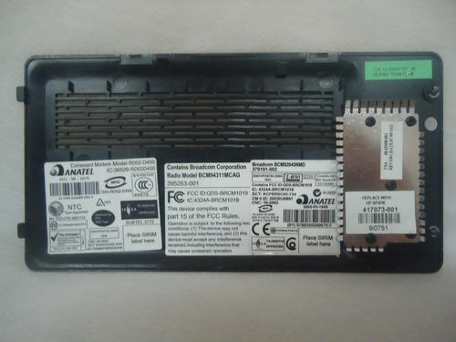 tampa do compartimento de hd notebook hp dv2000