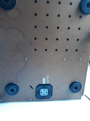 tampa do fundo do toca disco gradiente b-25