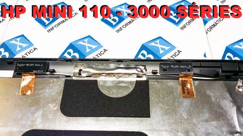 tampa do lcd hp mini 110 3000 séries preta