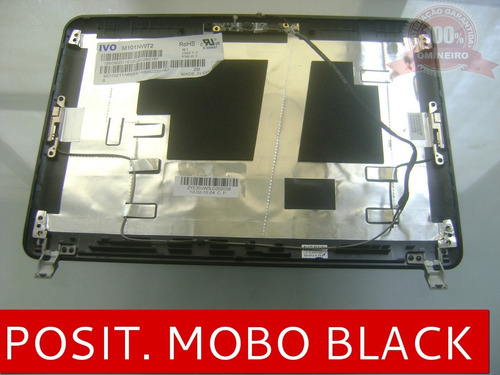 tampa do lcd netbook positivo mobo black 5000 cxa4-1
