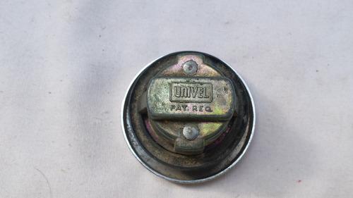 tampa do tanque combustivel antigo vw fiat gm dodge cromada