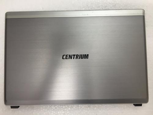 tampa e moldura com webcam notebook centrium fastline
