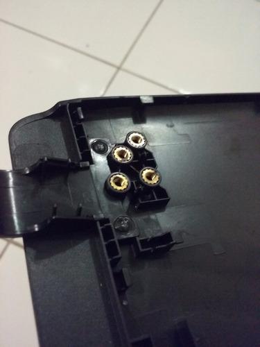 tampa e moldura da tela carcaça notebook cce ultra thin u25