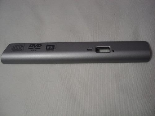 tampa frente moldura dvd notebook hp pavilion dv4000 s/botão