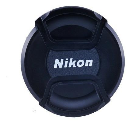 tampa frontal para lente nikon 55mm - diâmetro