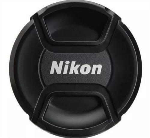 tampa frontal para lentes de 58 mm para nikon