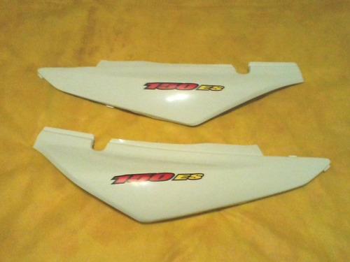 tampa lateral bros es /150 branca 04 a 08 paralelo par novo