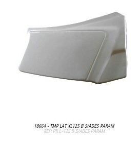 tampa lateral cg 83 a 89 branco par 2pc s/adesivo