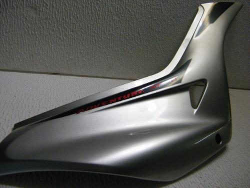 tampa lateral direita falcon 99/00 prata metálico original