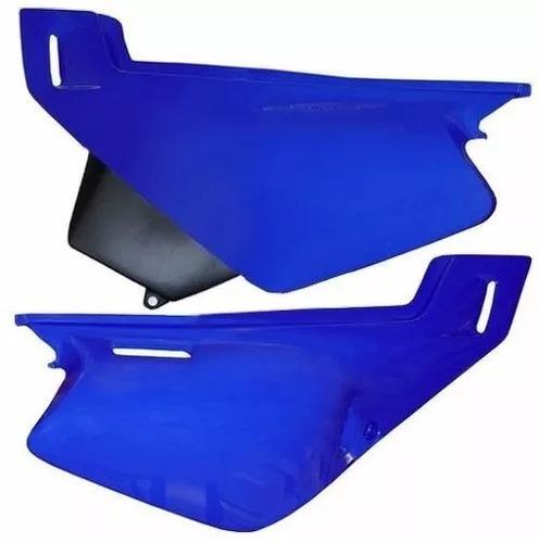 tampa lateral par xt 600 azul 1999/2000 s/ adesivo paramotos