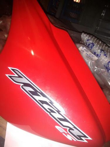 tampa lateral titan 150 es vermelha 2004