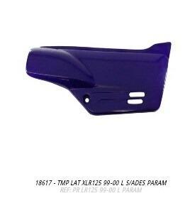 tampa lateral xlr125 99 a 2000 lilas par s/adesivo