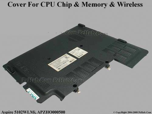 tampa memoria e modem notebook aspire 3690