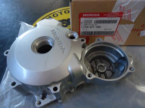 tampa motor twister ate 05 l/e original  (cinza clara)