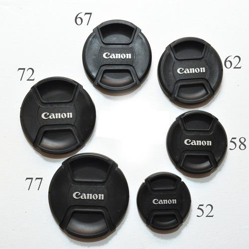 tampa objetiva canon 72ø 72mm lens cap